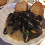 Mussels (this pic was taken half way through the meal)
