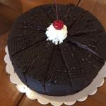 The mouthwatering moist chocolate cake