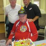 Here we are! My Uncle Jim, Myself, and my Late Dear old Dad! We were celebrating his 80th Birthd