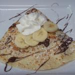 French bistro style crepes