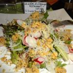 salade au crumble copieuse
