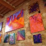 "Locanda's Wine Bar ""E lucevan le stelle"" - Micaela Cioc Signorini Temporay Exhibition"