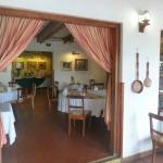 Intimate dining/breakfast area