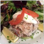 Avocado Crab Salad Cannon Beach Cafe Oregon