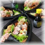 Mini boat do sushi lounge parque 10 mall