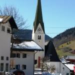 Church in niederau