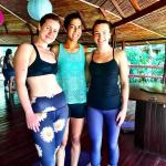 Some of the amazing women I met through the yoga and surf package.