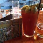 Perfect Bloody Mary with beer chaser