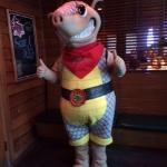 The Texas Roadhouse Armadillo