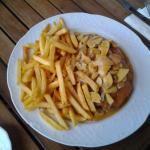 schnitzel in mushroom sauce