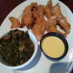 Calabash chicken was very tasty