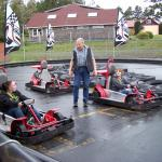 Go-kart track right on the grounds for all ages to enjoy !!!