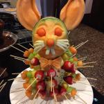 Easter Fondue Bunny