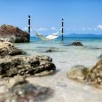 Hammock by the beach