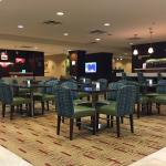 Marriott Courtyard Bistro area - near Fairfield Inn