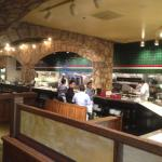 Macaroni Grill - kitchen area