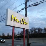 Mr. Chu - front sign along Route 10