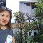 in front of Anang Balay Turista