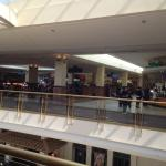 Livingston Mall - view of food court