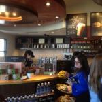 Starbucks - service counter