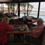 View from conservatory over Kings Beach at Cubana