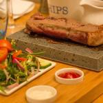 Steak Stones at The Channel Restaurant