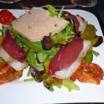 le duo de magret et foie gras