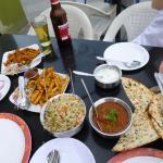 lunch at Vihar
