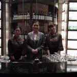 The wonderful staff