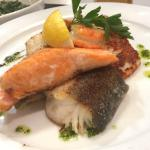Gourmet-Fischteller
