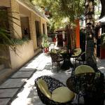 Courtyard lounge side