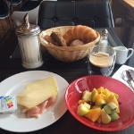 Frühstück inkl. Sonnenstrahlen