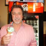 AT BEEBE'S ICE CREAM STORE WITH ROSARIO CASSATA IN MARCO ISLAND