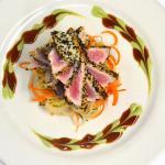 Encrusted Tuna