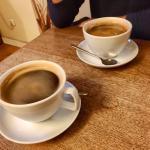 Einfach sehr gemütlich und lecker Kaffee