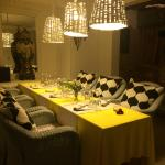 Un des nombreux espaces pour dîner