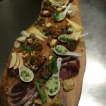 large tasting board