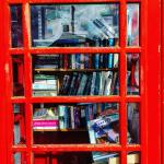 Book swap in the red phone box