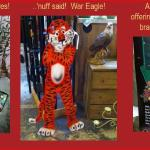 Auburn is the home of Auburn University!  War Eagle!