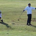 Spring golfing on Gabriola