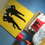 Morecambe & Wise room at the Dales Haven