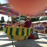 Mest karuseller för de riktigt små barnen.