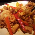 Sweet chile calamari