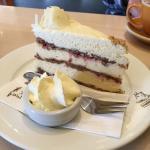 Hazelnut Meringue Cake with Raspberries (Gluten Free)