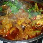 Dry pot dish