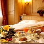 Villa Piccola Siena colazione in camera hotel a siena