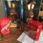 Our Easter gifts we received with breakfast on Easter Sunday