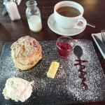 Best scone and coffee I've had in Dublin