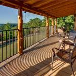 Large decks on every cabin...with SPECTACULAR views of Beaver Lake!