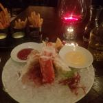my starter: king crab